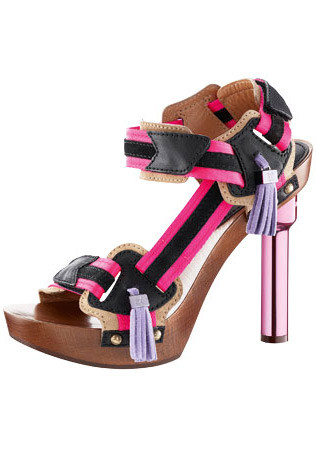 Louis Vuitton platform sandals, $1,500.