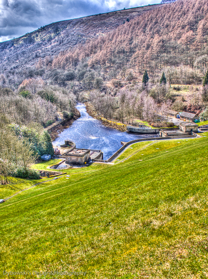 Ladybower Reservoir Spilway