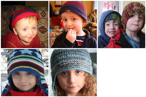 Little Buddha - five years of hats