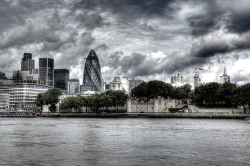 London skyline. Skyline de Londres.
