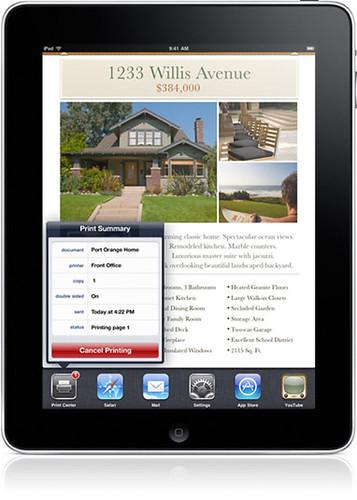tablet iPad EHR / iPad EMR Printing
