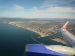 Leaving LAX on Southwest