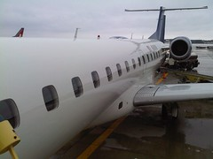 Our Airplane on the MKE Ramp - N380SK