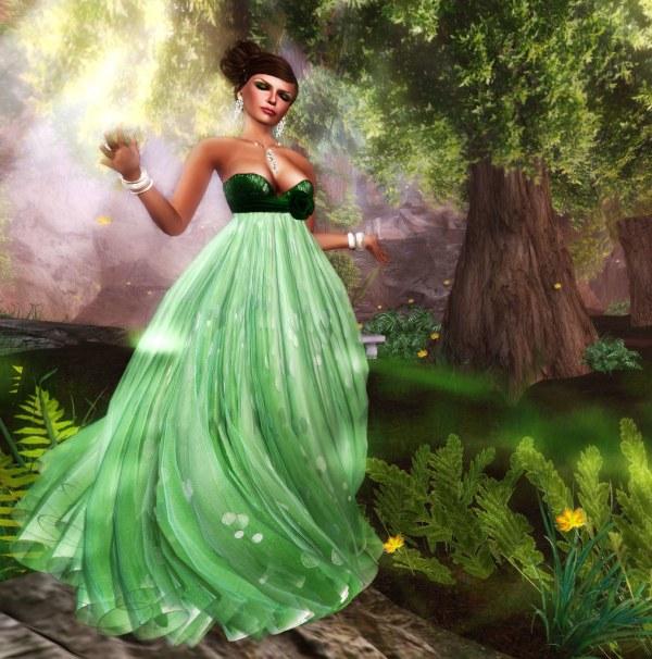 dancing in the meadow
