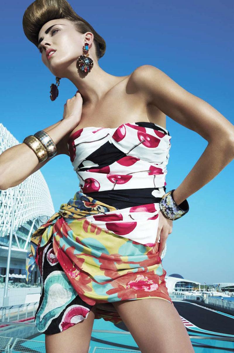 Harper's Bazaar Arabia March 2010 5