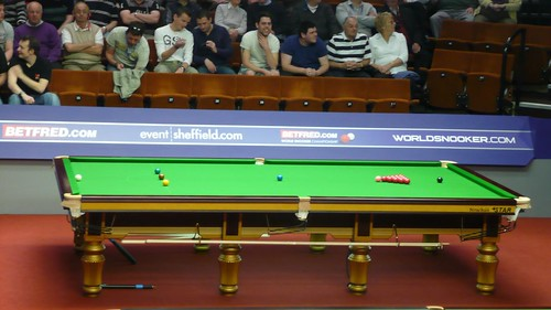 Table one at the Crucible
