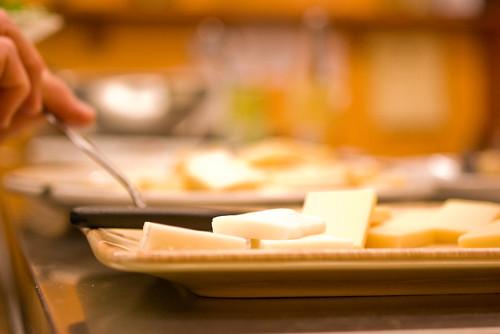 raclette buffet