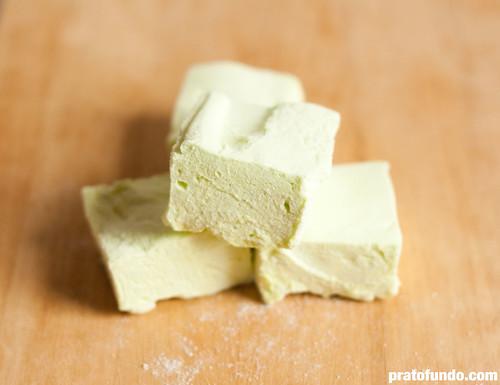 Marshmallows de Capim-Santo