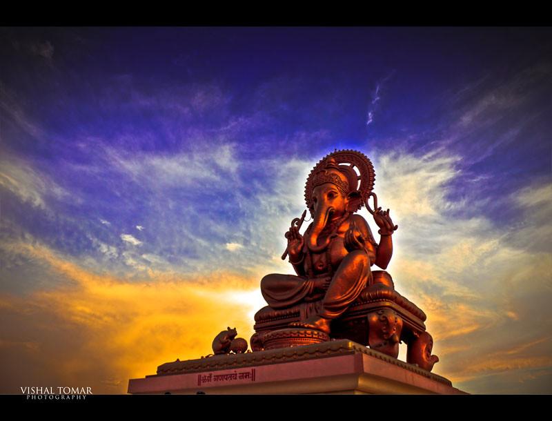 Lord Ganesha Idol,talegaon,pune