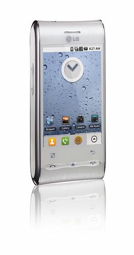 LG GT540 Silver