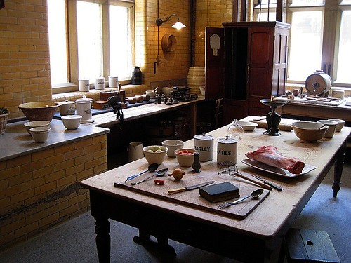Victorian Kitchen, Cragside, Northumberl by Calotype46, on Flickr