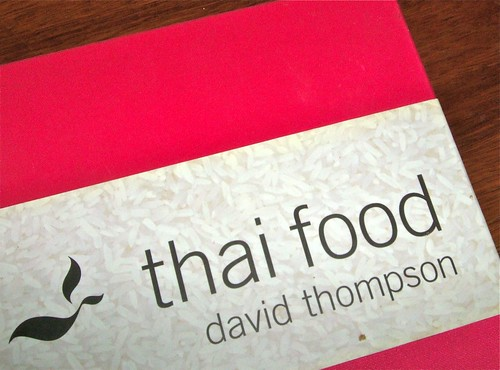 pink silk cover of Thompson's Thai