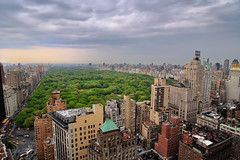 Cloudy Afternoon Over Central Park, New York City