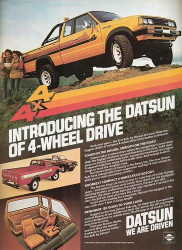 1980 Datsun truck 4x4