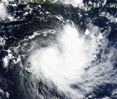 Tropical Cyclone Sean Near the Lesser Sunda Is...
