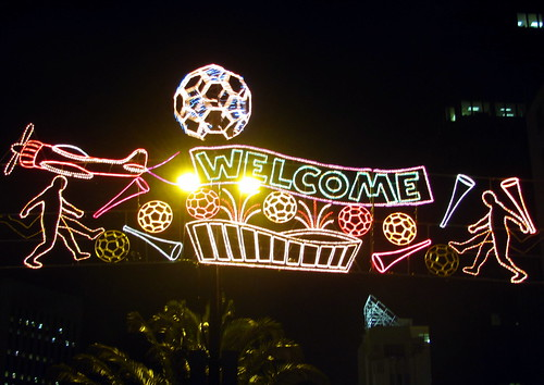 welcome world cup by AJAY B2010.