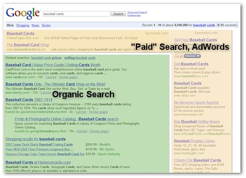 Google Search Results Broken Down