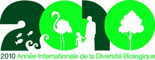 IYB Logo : 2010 International Year of Biodiversity / 2010 Annee internationale de la biodiversite