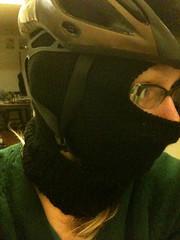 Mask with helmet