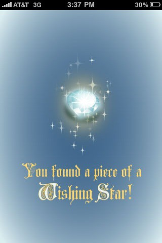 Wishing stars app
