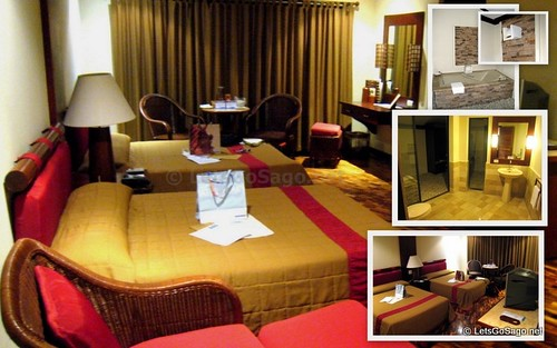 Deluxe Room in Maribago where we stayed