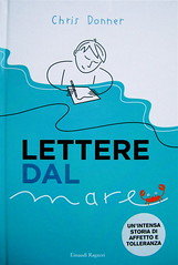 Chris Donner, Lettere dal mare, Einaudi Ragazzi 2010; [illustrazioni di Aurora Biancardi], cop. (part.), 1