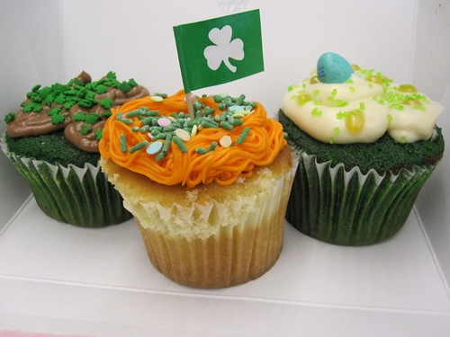 St. Patty's Day cupcakes