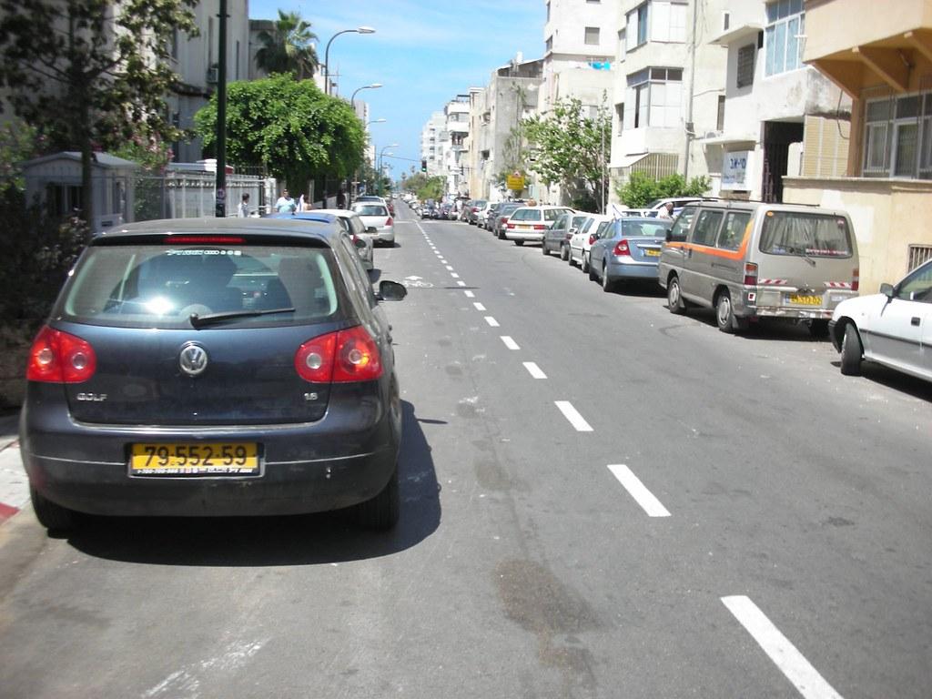 שביל האופניים ברחוב גאולה