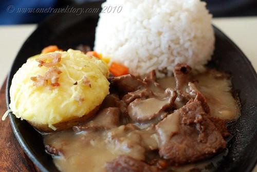 Bigg's Diner Pili: Tenderloin Tips