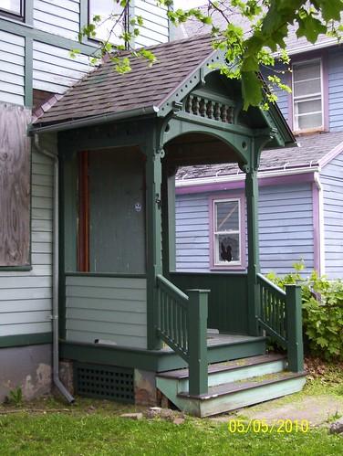 period porch work