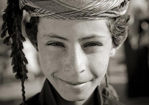 Ali, Kid in Najran - Saudi Arabia