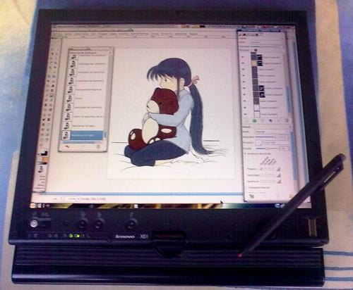 Trabajando en Yuuki