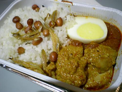 Air Asia nasi lemak