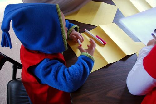 kiki writes a letter