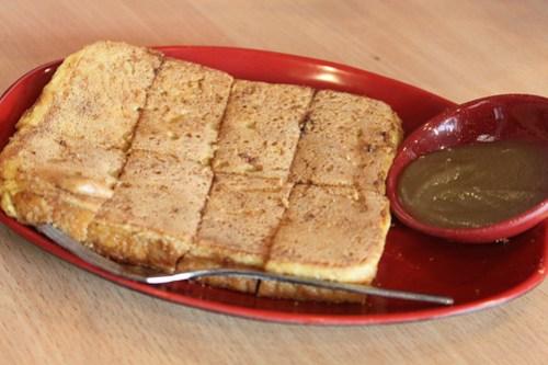 French Toast with Kaya at Ya Kun Kaya Toast