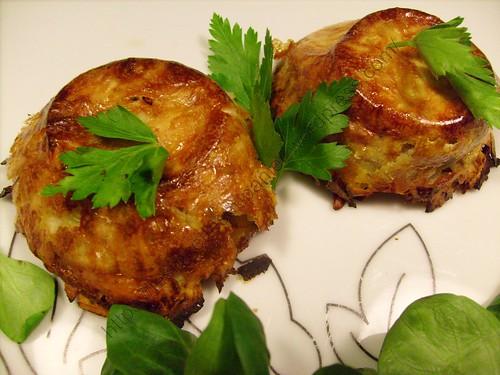Galettes de topinambours / Jerusalem artichokes pancakes