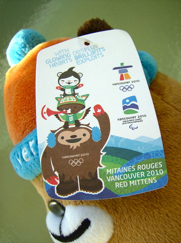 2010 VANCOUVER WINTER OLYMPICS | THE LOOK OF THE GAMES :: MASCOTS ::: MUKMUK 2