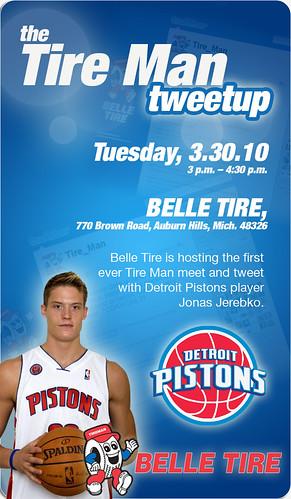 Belle Tire - Detroit Pistons