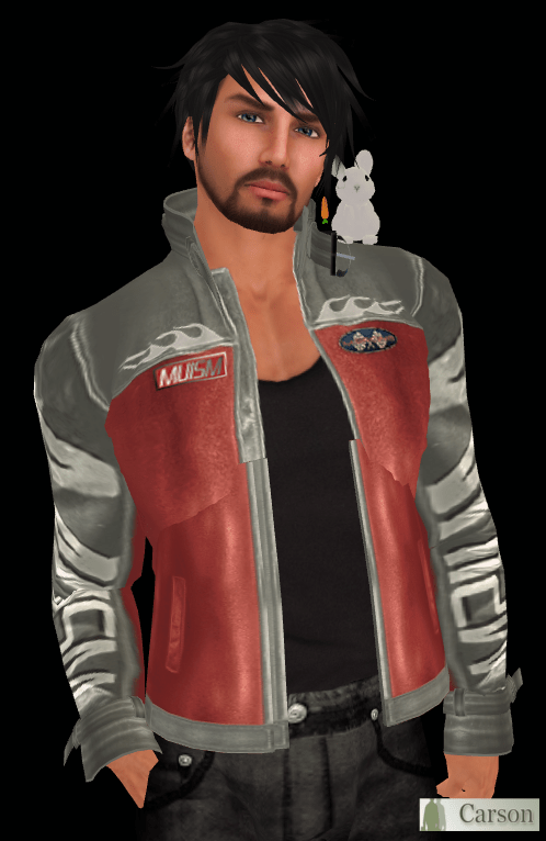 Muism MRJ  silver-red racing jacket @KMAADD
