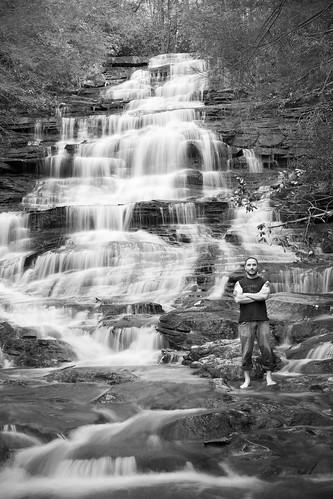 Me at Minnehaha Falls