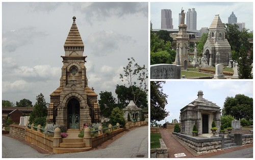 Mausoleums, Oakland Cemetery, Atlanta GA