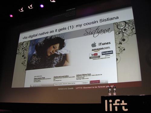 Lift10 Antonio's cousin