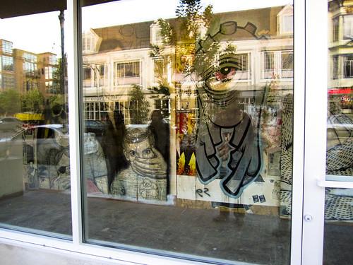 Valencia Art Wall Moved Inside
