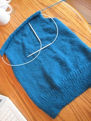 Knitting Olympics Progress