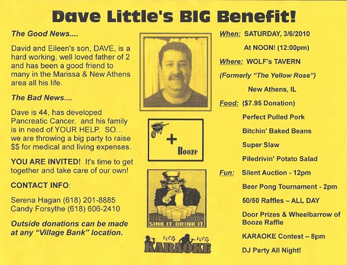 Dave Little's Big Benefit