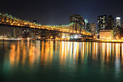 Queensboro (59th Street) Bridge and Midtown Ma...