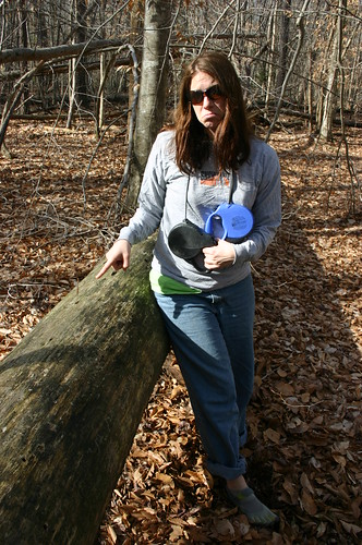 35th Birthday Hike - Vicky Laments Baby Pine  (by Ryan Somma)