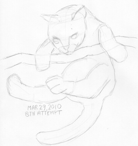 Warm-up sketch for March 29, 2010