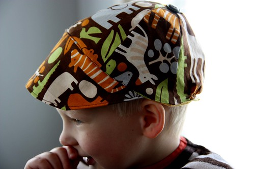Summer cap for Niilo