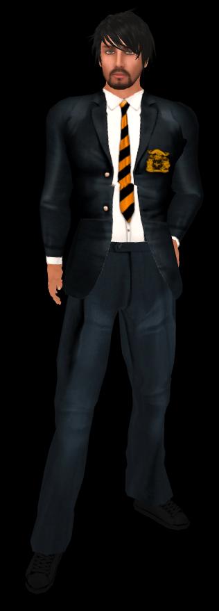 Luna's Boutique Classroom Male Uniform